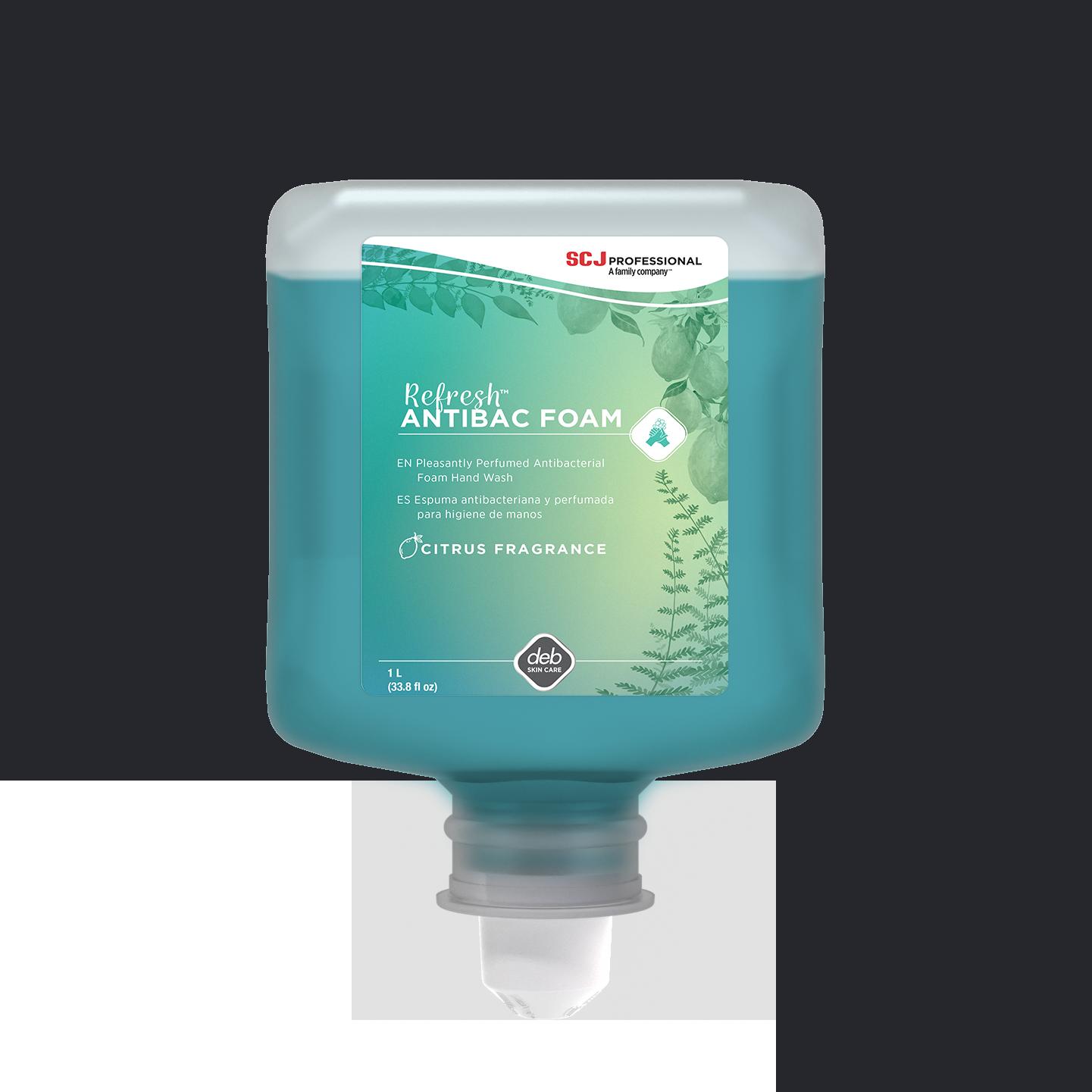 Refresh™ AntiBac FOAM 1L cartridge, 6/case