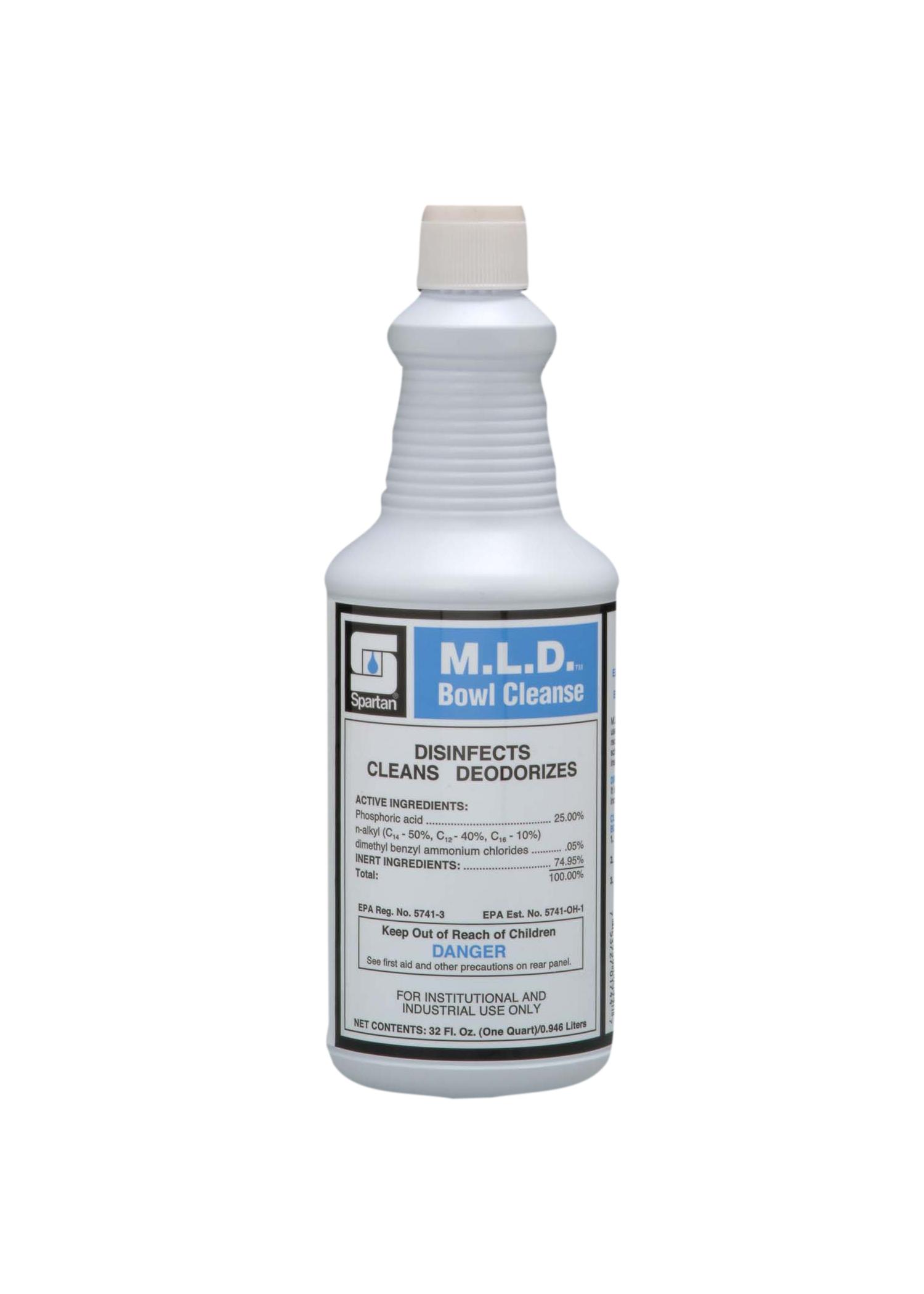 M.L.D. Bowl Cleanse® 1 quart (12 per case)