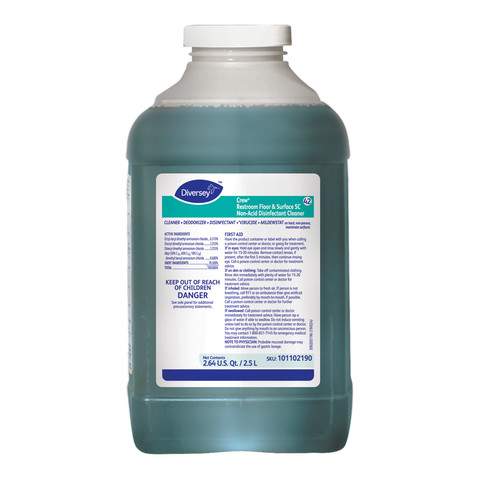 Crew Restroom Surface Disinfectant Cleaner J-Fill 2.5L (2/Case)