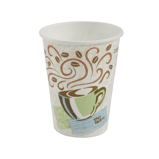 Perfect Touch Insulated Cup Coffee Haze-12 OZ 50/Sleeve (20/Case)