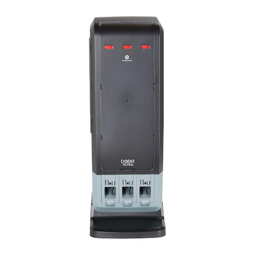 Smartstock Tri Tower Dispenser Black