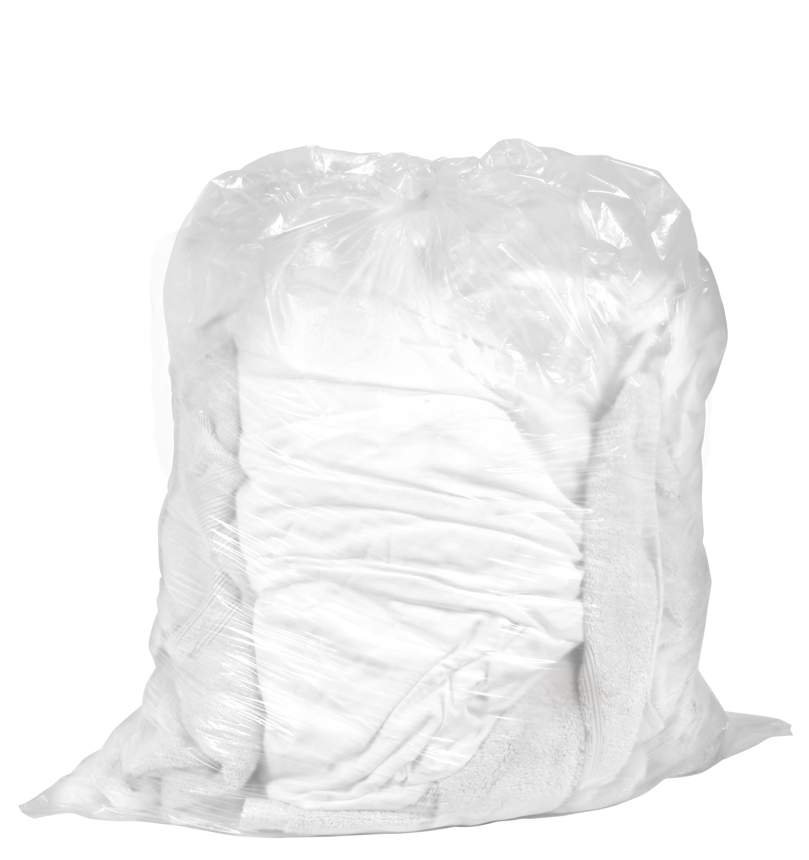 36x39 Water Soluble Bag .8MIL Clear 25/Roll (4/Case)