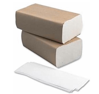 Multifold Towel White 250/Pack (16 per case)