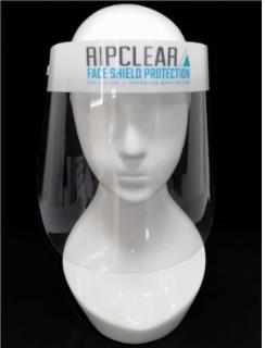 Face Shield Elastic Strap & Foam Pad Clear