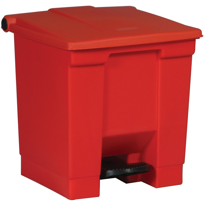 Step On Can Red 8 Gallon