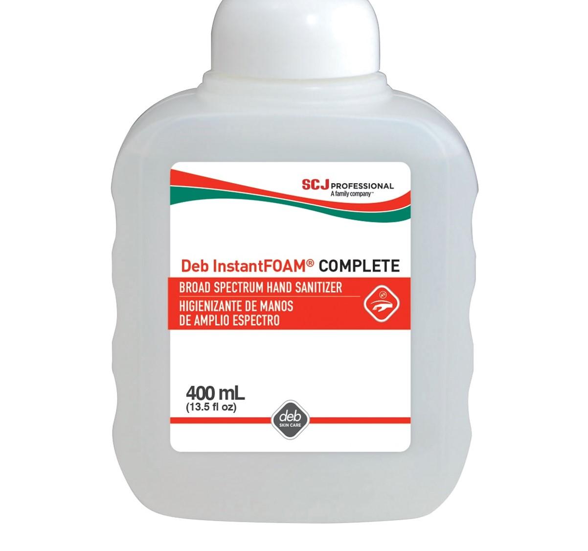 Instant Foam Complete 400ML w/ 1 Pump (6 bottles per case)