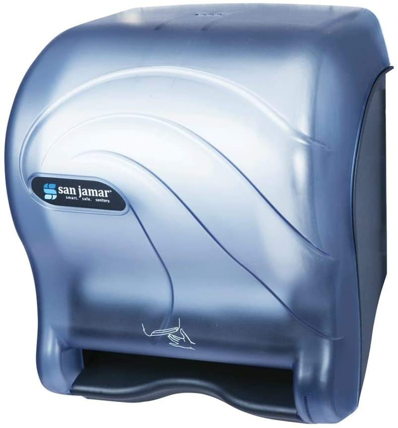 Dispenser Hands Free Electronic Blue