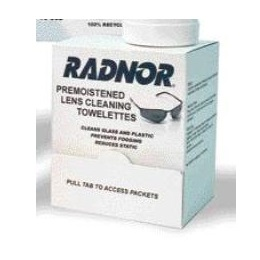 Lens Cleaning Towelette 100/Box