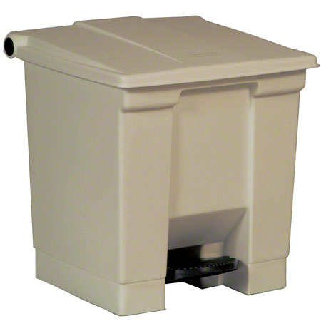 Step On Can Beige 8 Gallon